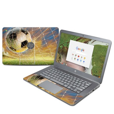 HP Chromebook 14 G5 Skin - Soccer