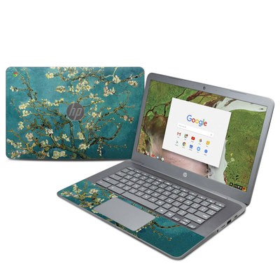 HP Chromebook 14 G5 Skin - Blossoming Almond Tree