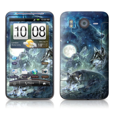 HTC Desire HD Skin - Bark At The Moon