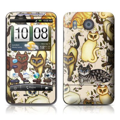 HTC Desire HD Skin - Cats