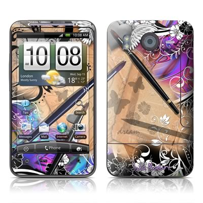 HTC Desire HD Skin - Dream Flowers