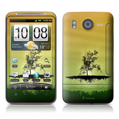 HTC Desire HD Skin - Flying Tree Amber
