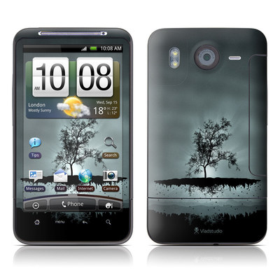 HTC Desire HD Skin - Flying Tree Black
