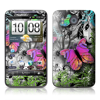 HTC Desire HD Skin - Goth Forest