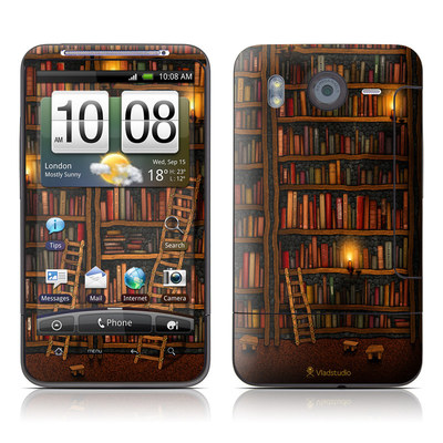 HTC Desire HD Skin - Library