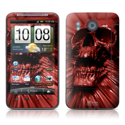 HTC Desire HD Skin - Skull Blood