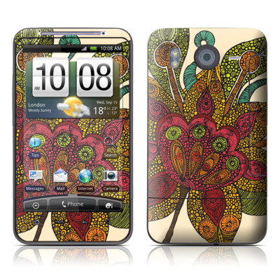 HTC Desire HD Skin - Spring Flower