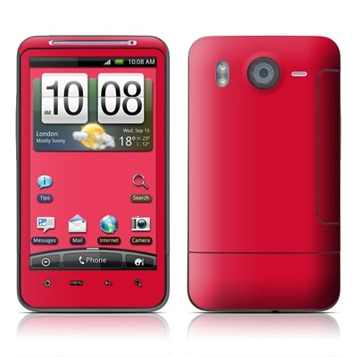 HTC Desire HD Skin - Solid State Red