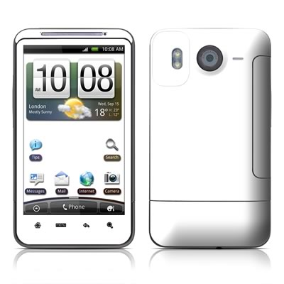 HTC Desire HD Skin - Solid State White
