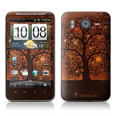 HTC Desire HD Skin - Tree Of Books
