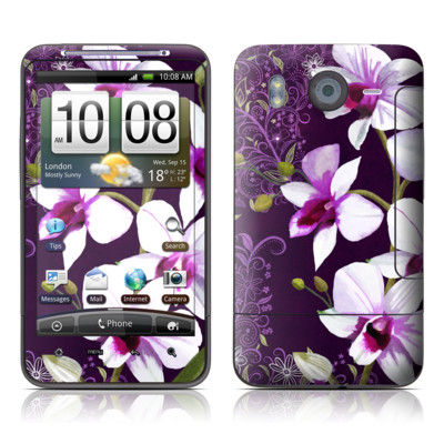 HTC Desire HD Skin - Violet Worlds