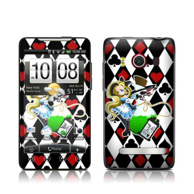 HTC Evo Skin - Alice