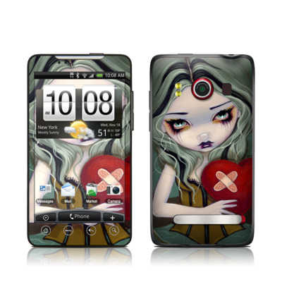 HTC Evo Skin - Broken Heart