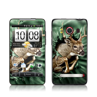 HTC Evo Skin - Break Through Deer