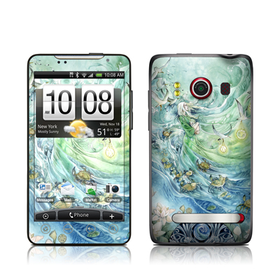 HTC Evo Skin - Cancer
