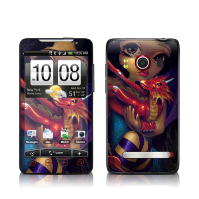 HTC Evo Skin - Darling Dragonling