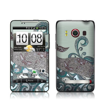 HTC Evo Skin - Deep Blue Me