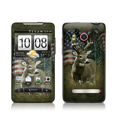 HTC Evo Skin - Deer Flag