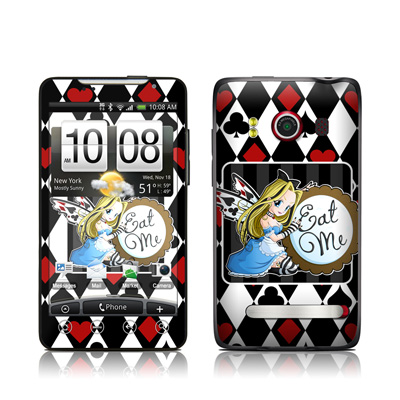 HTC Evo Skin - Eat Me
