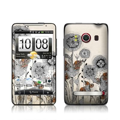 HTC Evo Skin - Four Flowers