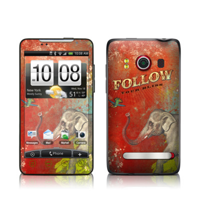 HTC Evo Skin - Follow Your Bliss
