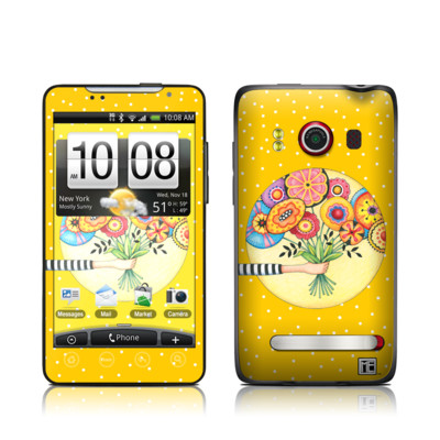 HTC Evo Skin - Giving