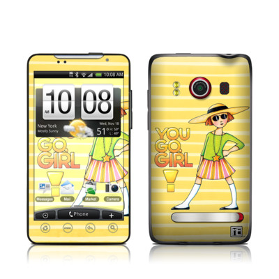 HTC Evo Skin - You Go Girl