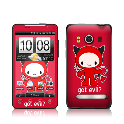 HTC Evo Skin - Got Evil
