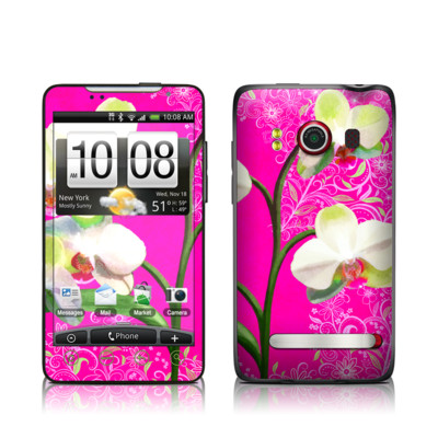 HTC Evo Skin - Hot Pink Pop