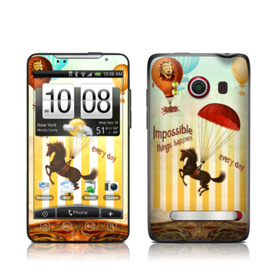 HTC Evo Skin - Impossible