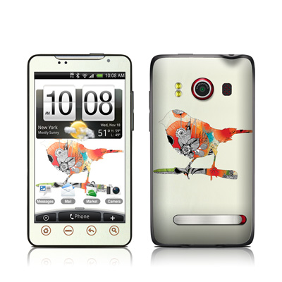 HTC Evo Skin - Little Bird
