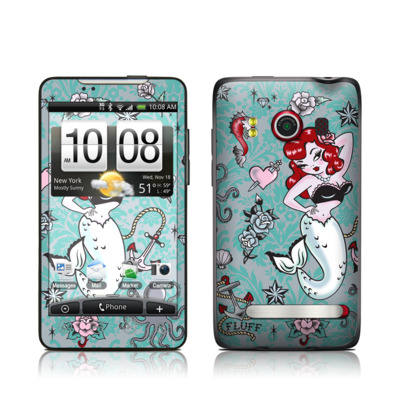 HTC Evo Skin - Molly Mermaid