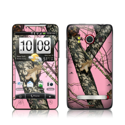 HTC Evo Skin - Break-Up Pink