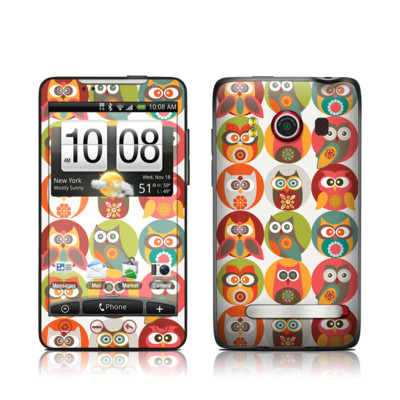HTC Evo Skin - Owls Family