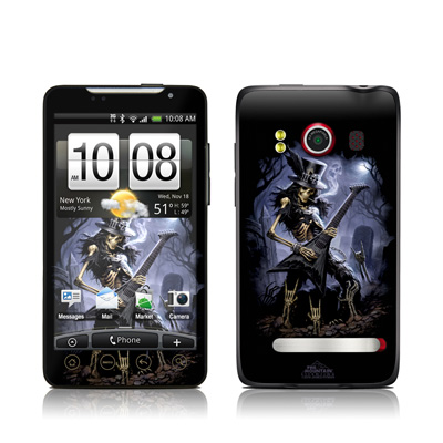 HTC Evo Skin - Play Dead