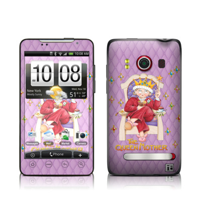 HTC Evo Skin - Queen Mother
