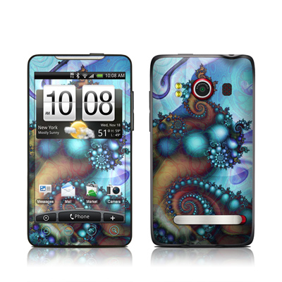 HTC Evo Skin - Sea Jewel