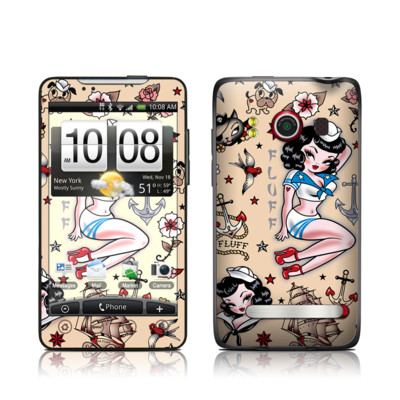 HTC Evo Skin - Suzy Sailor