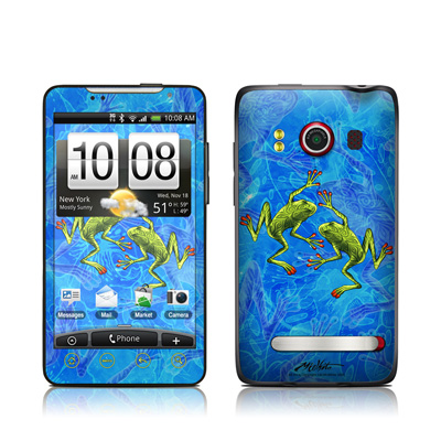 HTC Evo Skin - Tiger Frogs