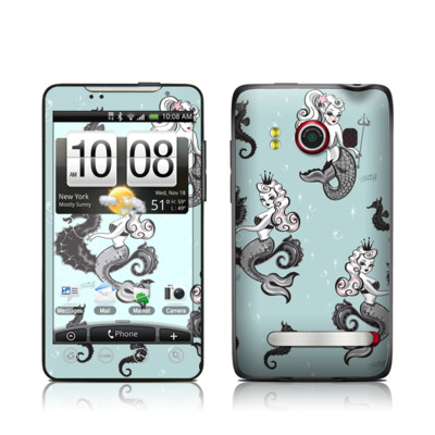 HTC Evo Skin - Vintage Mermaid