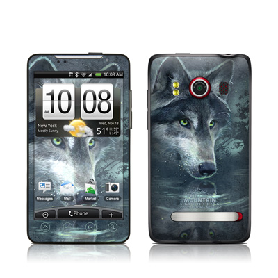 HTC Evo Skin - Wolf Reflection