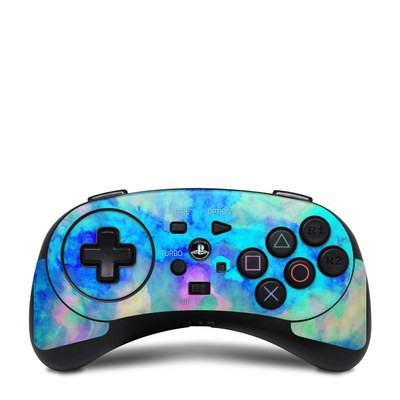 HORI Fighting Commander Skin - Electrify Ice Blue