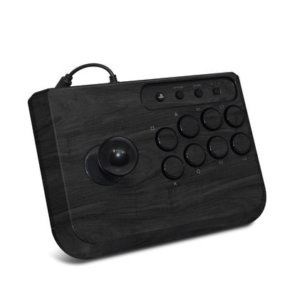 HORI Fighting Stick Mini 4 Skin - Black Woodgrain
