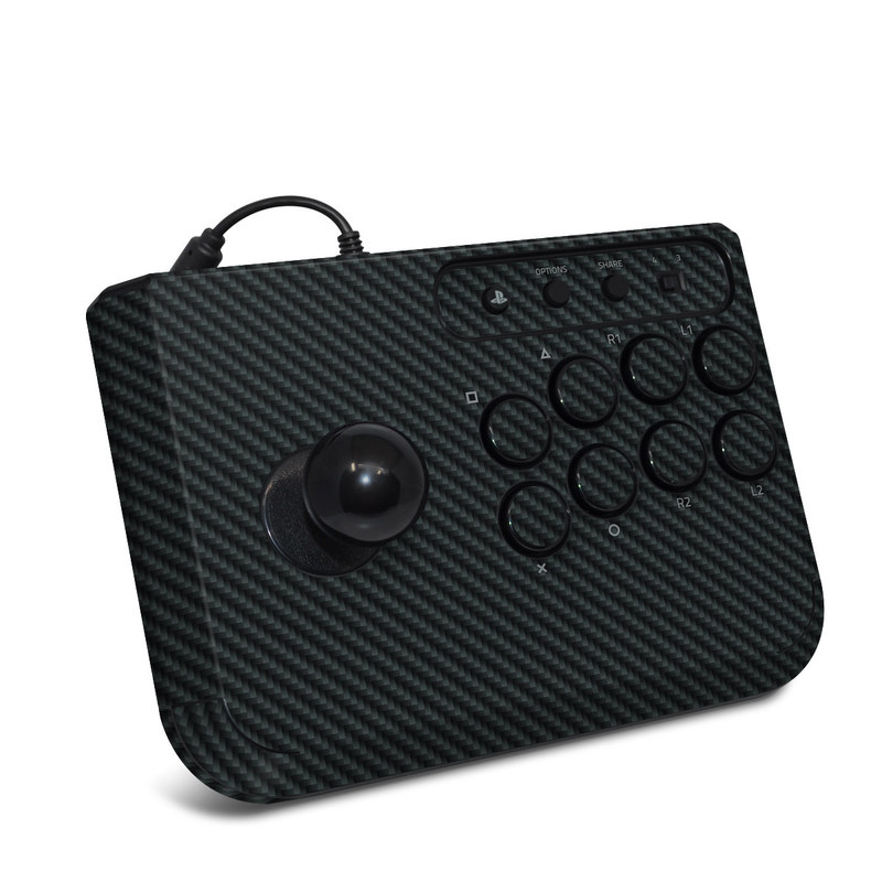 HORI Fighting Stick Mini 4 Skin - Carbon by DecalGirl Collective