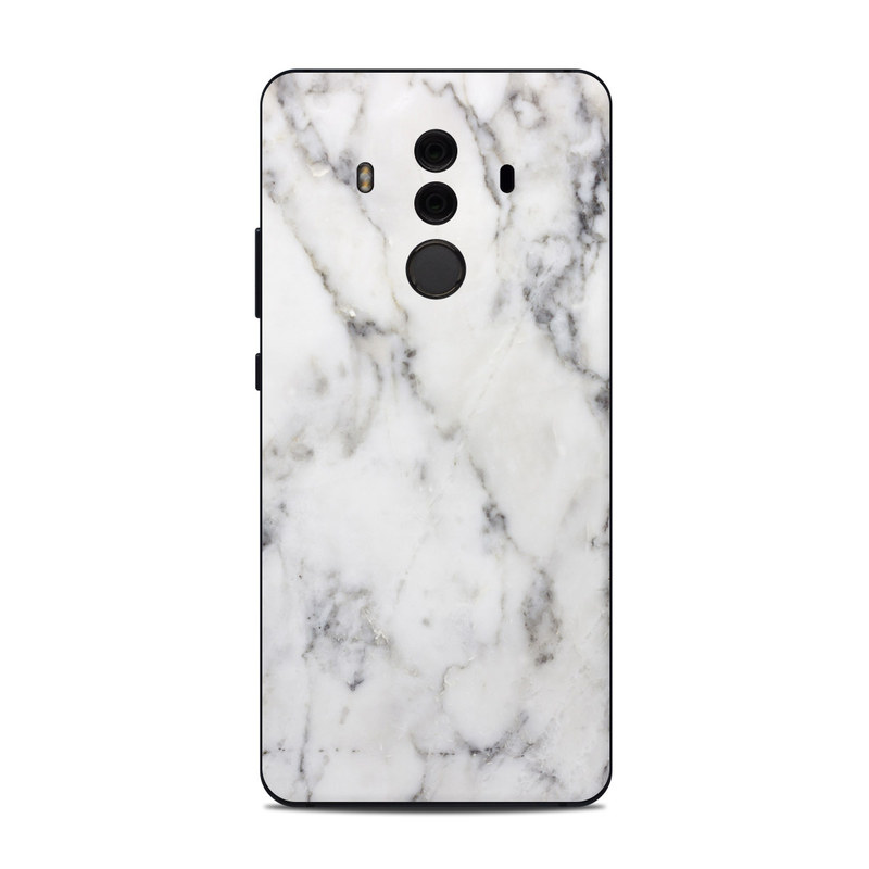 Huawei Mate 10 Pro Skin White Marble By Marble