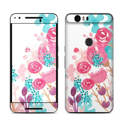 Huawei Nexus 6P Skin - Blush Blossoms