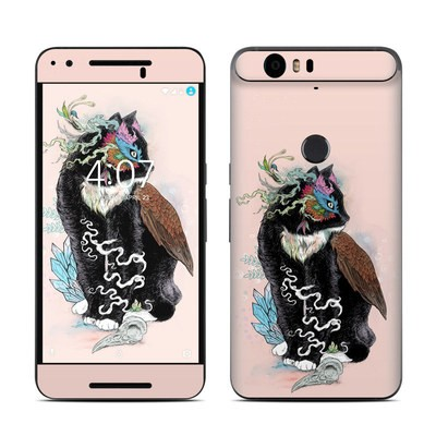 Huawei Nexus 6P Skin - Black Magic
