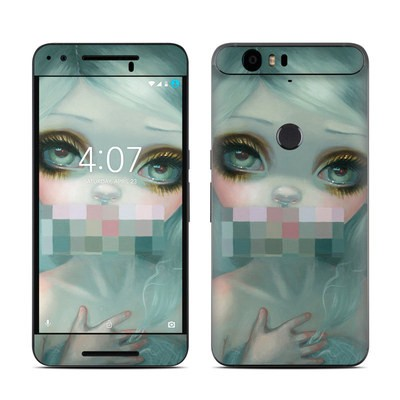 Huawei Nexus 6P Skin - Censored Smile