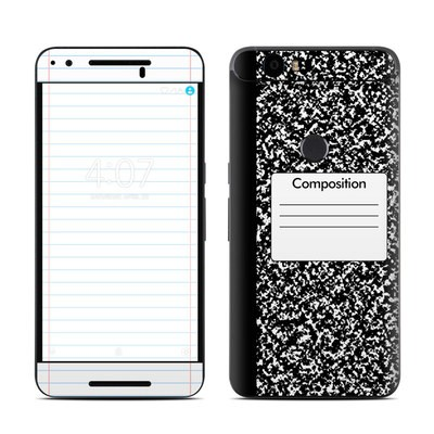 Huawei Nexus 6P Skin - Composition Notebook