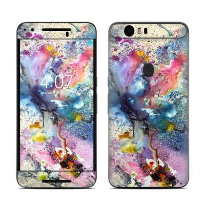 Huawei Nexus 6P Skin - Cosmic Flower